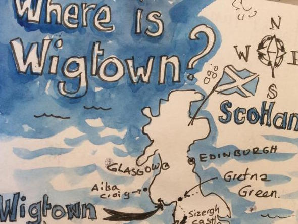 Wigtown 1 tile